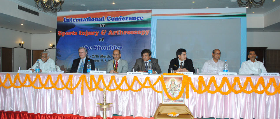 International Conference on Shoulder Arthroscopy at Allahabad 2011
